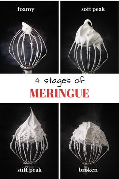 I love meringue, so I have dedicated an entire post to discuss all the nitty gritty details on how to make perfect meringue. #howtomakemeringue #howtomakemeringueeasy #homemademeringue Perfect Meringue, How To Make Meringue, Making Meringue, Meringue Desserts, Meringue Cookies, Baked Meringue, Healthy Recipes On A Budget, Healthy Cooking, Sweet Desserts