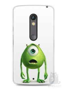 Capa Capinha Moto X Play Mike Wazowski Monstros S.A. - SmartCases - Acessórios para celulares e tablets :)