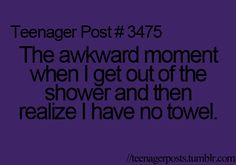 i hate it when this happens...even worse at school hahaha. @Julia Reich i feel like this happened a lot lol
