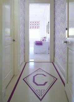 Floor graphic. Vinil para decorar los pisos.