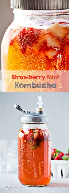 Strawberry Mint Komb
