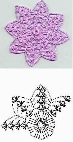 38 Ideas knitting charts christmas free crochet for 2019 Free Crochet Doily Patterns, Crochet Snowflake Pattern, Crochet Stars, Crochet Circles, Crochet Mandala, Thread Crochet, Crochet Designs, Crochet Doilies, Crochet Flowers