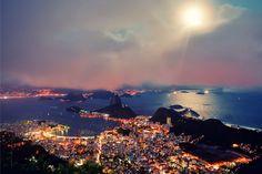 Rio de Janeiro, Brazil  Rio by Moonlight by IsacGoulart