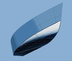 Flats boat FS18 round chine