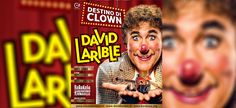 Nel suo nuovo show, Destino di clown, David Larible si presenta in un teatro ad un casting, ma le audizioni sono più complesse del previsto ...
