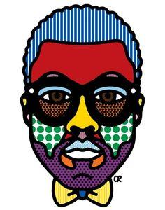 Illustration by Craig & Karl.  #KanyeWest #Portrait #Design #Illustration #CraigAndKarl #Editorial #Fashion
