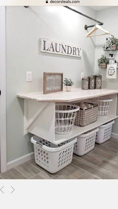 farmhouse laundry room is usually the most messiest room at your home. Admit it, farmhouse laundry room is usually the most messiest room at your home. 86 Brilliant Laundry Room Ideas for Small Spaces Laundry Room Remodel, Basement Laundry, Small Laundry Rooms, Laundry Room Design, Ideas For Laundry Room, Laundry Room Colors, Cute Spare Room Ideas, Spare Room Storage Ideas, Laundry Room Makeovers