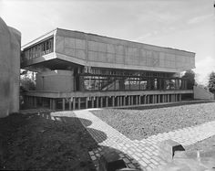 St Peter's Seminary, Cardross Scotland (1961-66) | Gillespie, Kidd & Coia | GSA Archives and Collections