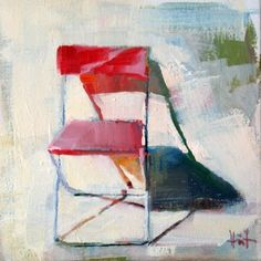 Summer Shadows, painting by artist Liza Hirst
