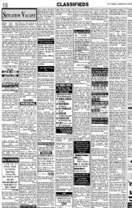 Book Classified Ads on Tribune Newspaper Instantly via releaseMyAd!