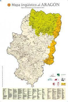 Mapa lingüístico de Aragón