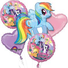 My Little Pony Balloon Bouquet | 5 ct