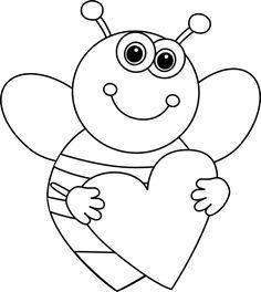 Desenhos de abelha para pintar, colorir ou imprimir - abelhinha para colorir - Espaço Educar desenhos para colorir