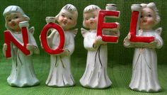 N O E L Figurines (My grandmother had a set. st)
