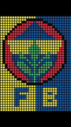 Pixel Crochet Blanket, Diy Friendship Bracelets Patterns, Printer, Logos, Creative, Kids, Herb, Crosses, Seed Stitch