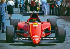 Ferrari 126 C3 1983 - Back when the F1 cars were beautiful