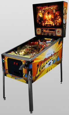 Indiana Jones Pinball - Must have a pinball machine in the basement along with a pool table, and air hockey.