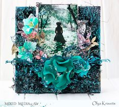 Olya Kravets: Canvas for Mixed Media & Art and new video tutorial