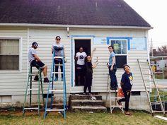 Neighborhood revitalization work