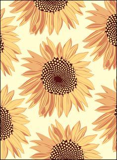Vintage Sunflowers stencils, stensils and stencles