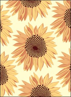 Vintage Sunflowers stencils, stensils and stencles