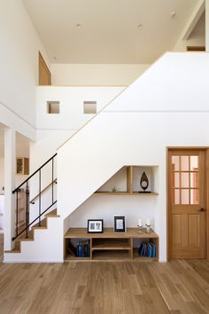 Tiny House Stairs, Loft House, Home Building Design, Building A House, Home Office Design, House Design, Room Under Stairs, Small Dream Homes, Tiny House Furniture