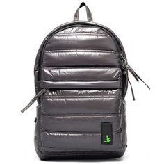 Padded Backpack Battleship Gray, $73, now featured on Fab.