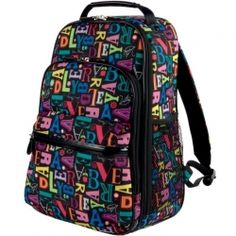 1ee4eab2887 Got to love this colorful, fun Vera Bradley Laptop Backpack - such a cool  design
