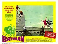 batman lobby card submarine Batman The Movie 1966, Batman 1966, Batman And Superman, Batman Robin, 1960s Tv Shows, Burt Ward, Yvonne Craig, Adam West, The Way I Feel