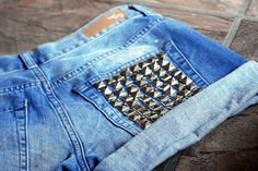 Fashion: Jean Shorts : The Berry