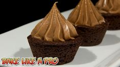 Chocolate Cookie Cups with Nutella Cheesecake Frosting Recipe