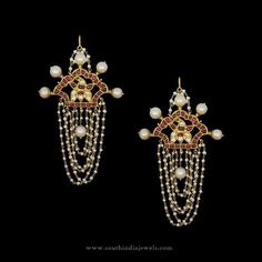Gold Designer Earrings in Hyderabad, 22K Gold Earrings in Hyderabad, Hyderabad Gold Earrings Designs