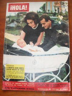 REVISTA HOLA Nº 1028, 9 DE MAYO DE 1964, LA INFANTITA ELENA CUMPLE CUATRO MESES, BODA DE SARITA...