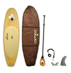$1600 -Paiwen SUPs for women - Bamboo Stand Up Paddleboard package - NO SHIPPING CHGS US OR CANADA