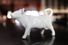 Love the cow creamer!