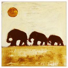 Three Elephants | Karen Bezuidenhout :)