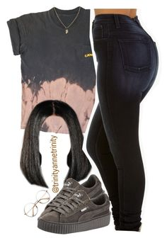 cigarettes on cigarettes.. by trinityannetrinity ❤ liked on Polyvore featuring Puma