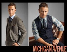 Jonathan Toews in MICHIGAN AVENUE Magazine