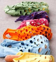 Sewing Crafts | Produce Bags | Recycled T-shirts | Fashion Accessory — Country Woman Magazine