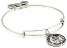 """Alex and Ani Bangle Bar """"St. Christopher"""" Russian-Silver Expandable Bracelet from Alex and Ani   New & Best Selling by naya5758"""