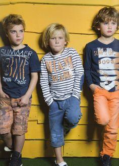 kids on the runway Cute Kids Fashion, Little Boy Fashion, Baby Boy Fashion, Ss15 Trends, Shooting Photo, Summer Boy, Boys Wear, Stylish Kids, Baby Prints