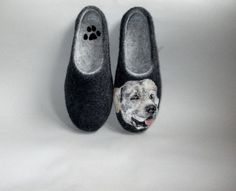 Labrador Retriever Felted portrait on hand felted by ShimaFelt