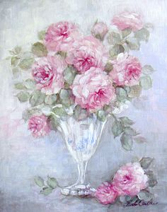 Misty Rose - Debi Coules Romantic Art