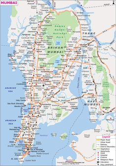 Mumbai City Map