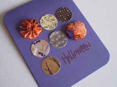 Handmade Halloween Card by ScrappyNan on Etsy, $4.50
