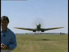Low flying Spitfire aircraft - YouTube