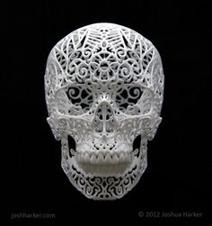 Browse through a wide array of Art design possibilities. With us any Art design is possible. Crane, 3d Printing Store, Plastic Design, 3d Pen, 3d Prints, Skull Design, Fantastic Art, Awesome, Amazing