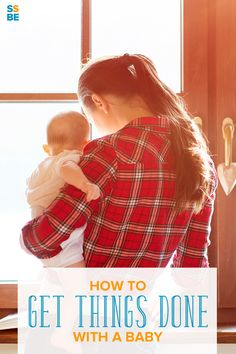 Wondering how to get chores done with a baby? Those first few months with a newborn can be some of the most challenging. Learn how to get things done with a baby, whether at home or out and about.