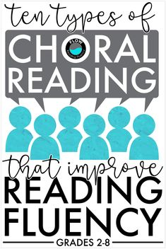 Teaching reading fluency can be so much fun, especially when you use choral reading. Learn 10 different types of choral reading that are perfect for grades You'll also get 10 lesson plans and 50 poems, so you'll have everything you need to implement Reading Fluency Activities, Reading Groups, Reading Resources, Reading Strategies, Improve Reading Comprehension, Reading Stations, Parent Resources, 3rd Grade Reading, Student Reading
