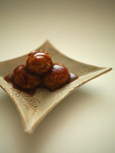 Japanese sweet and sour meat balls